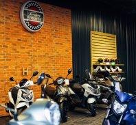 Špan odpira sodoben motocenter