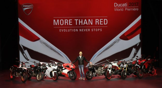 Ducati v Milanu