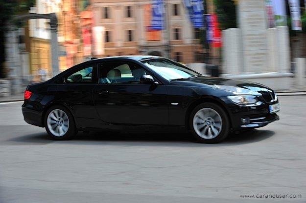 BMW 320d coupe . žensko mnenje