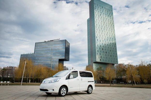 Daljši domet za Nissana e-NV200