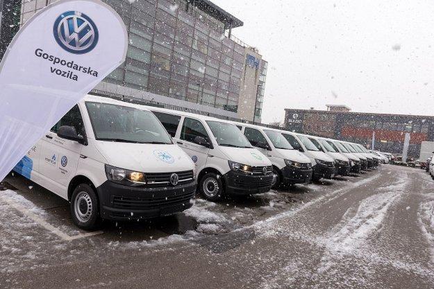 Volkswagen predal vozila Planiškim skakalnim šolam