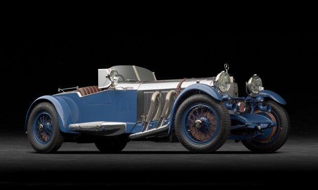 Mercedes-Benzova eminenca za prestižno prireditev v Angliji