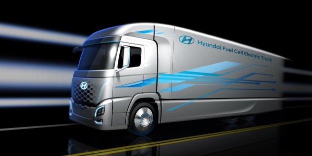 Hyundai napovedal prvi tovornjak na gorivne celice