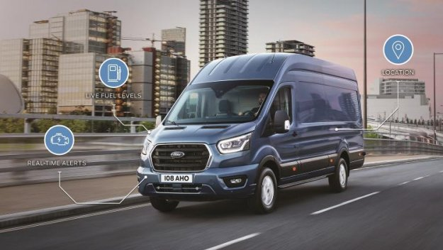 Ford z dvema novima tehnologijama v gospodarskih vozilih