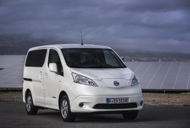 Nadgrajeni Nissan e-NV200 gre za med