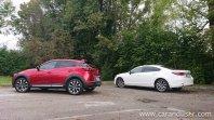 Prenovljeni Mazda 6 in Mazda CX-3