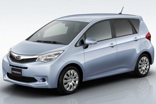 Subarujev Verso-S je Trezia