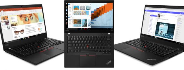 ThinkPad združeni z novimi mobilnimi procesorji AMD Ryzen PRO