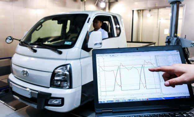 Hyundai s samodejnim izračunom mase tovora v nižjo porabo