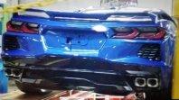 To je zadek Corvette C8