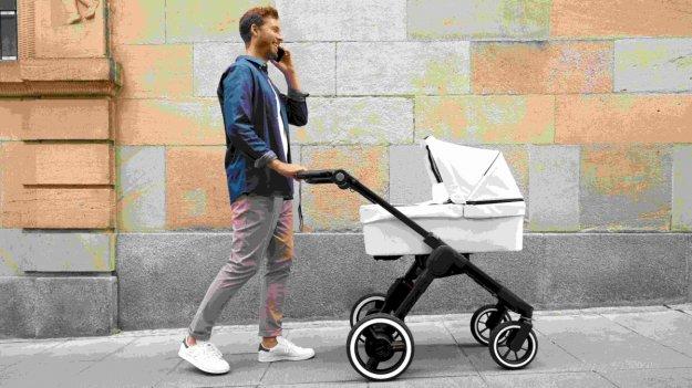 Otroški voziček prihodnosti: Od vetrovnika do pločnika