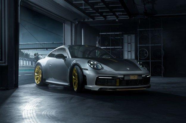 Porsche 911 kot ga vidi TechArt