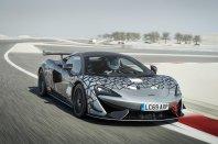 Omejeno in ekskluzivno: McLaren 620R