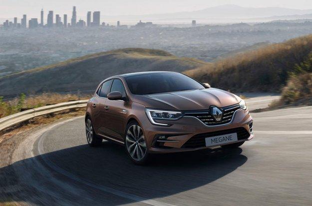 Pomlajeni Renault Megane tudi kot hibrid