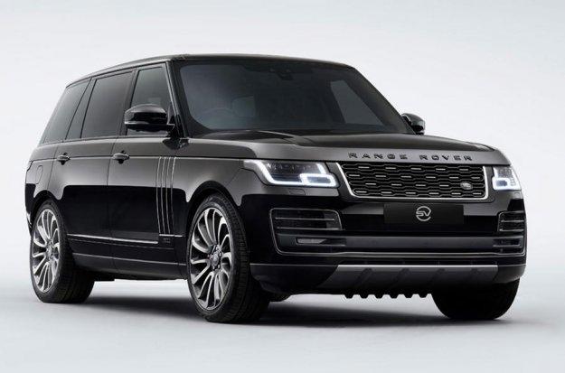 Unikatni Range Rover za Anthonyja Joshuo