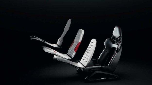 Porschejev 3D-tisk za školjkaste sedeže