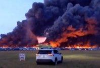 Avtomobilski pekel na jugozahodu Floride
