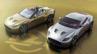 Dvojec Aston Martinov Vantage V12 Zagato