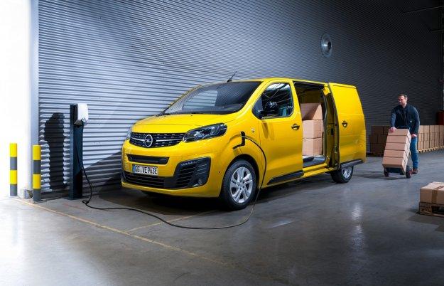 Električni dostavnik Opel Vivaro-e
