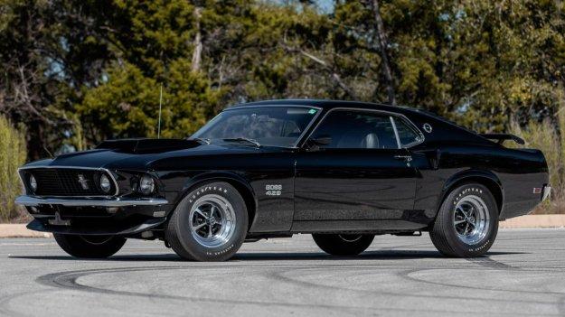 Redki Paul Walkerjev Mustang Boss 429 na dražbi