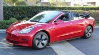 Tesla Model 3 kabriolet je nekaj kar res obstaja