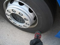 Britanci nad stare tovorne pnevmatike