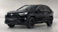 V črnino ovita Toyota RAV4