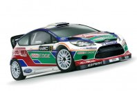 Ford Fiesta RS WRC bo debitirala na Finskem arktičnem krogu