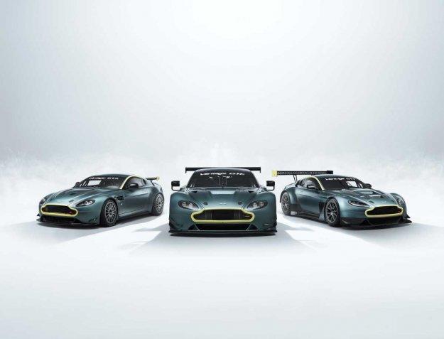 Aston Martin s kolekcijo treh dirkalnikov