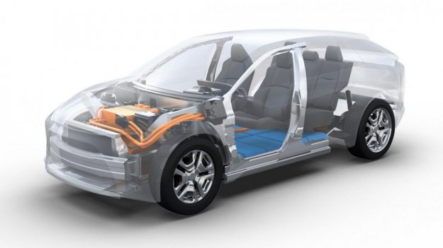 Subaru kmalu z električnim SUV-jem