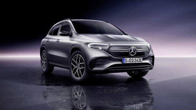 Popolnoma novi Mercedes-Benz EQA