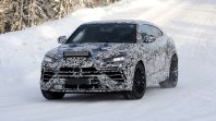 Zimsko testiranje osve�enega Lamborghinija Urus