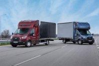 Ford predstavlja novo razli?ico Transita v izvedbi �asija s kabino.