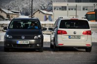 VW Touran Trendline 1.6 TDI vs VW Touran 1.4 TSI Highline