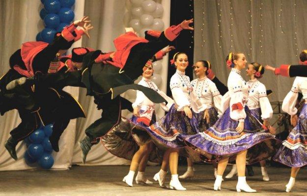 Ruski kozaki v ljubljanskih Križankah