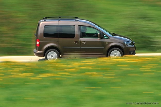 Volkswagen Caddy - �ensko mnenje