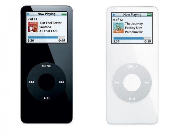 Vpoklic prve generacije iPod nano