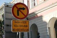 Zaprtje Slovenske ceste �