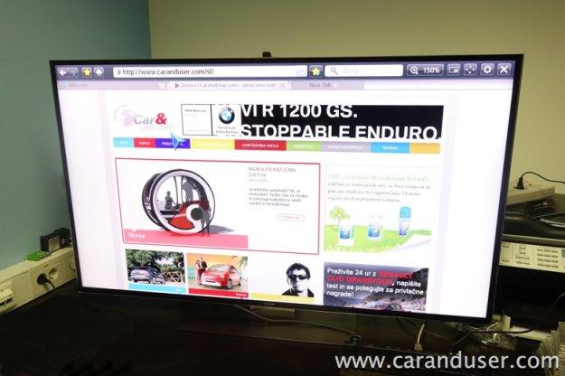 Samsung F9000 55-palcev Smart 3D UHD LED TV