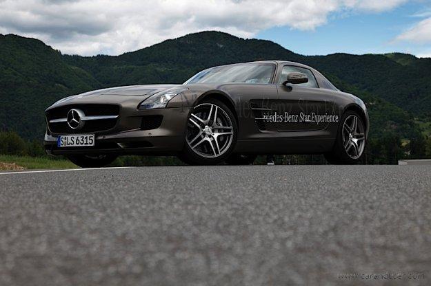 Obiskovalec iz Sttutgarta � Mercedes SLS AMG