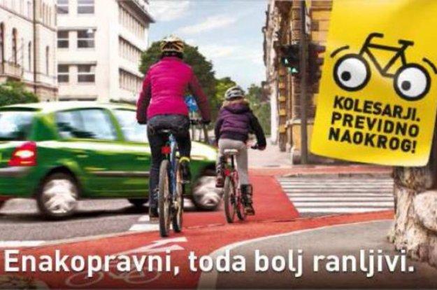 �tevilne aktivnosti za izbolj�anje prometne varnosti kolesarjev