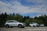 Mercedes GLC in GLE