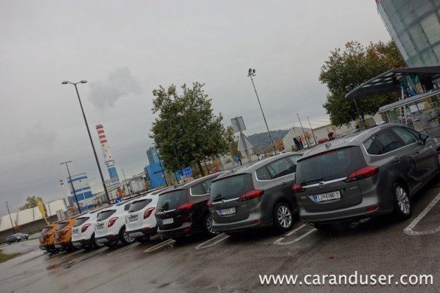 Opel Mokka X in Opel Zafira
