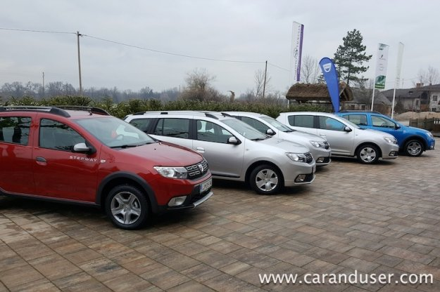 Dacia Sandero, Logan, Dokker ...