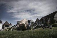 Razstava kamnitega mestnega pohi�tva in skulptur Urbana plastika