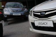 Predstavitev Subaruja Legacyja in Outbacka