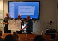 Eurobiker Charity podaril UKC-ju �est tiso?akov!