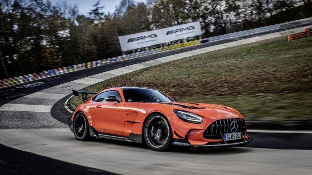 Mercedes-AMG GT Black Series je najhitrej�i serijski avtomobil na zelenem peklu