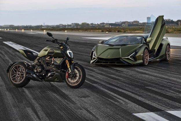 Posebni Diavel v ?ast Lamborghini Sianu