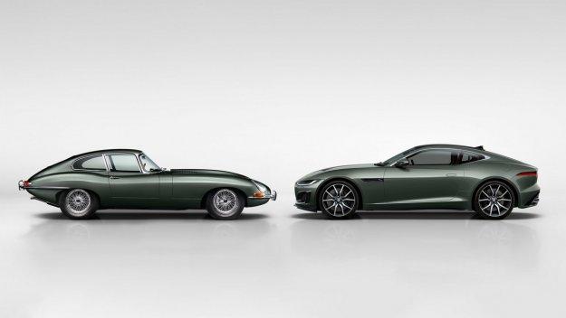 Jaguar F-Type v ?ast �estdesete obletnice legendarnega Jaguarja E-Type